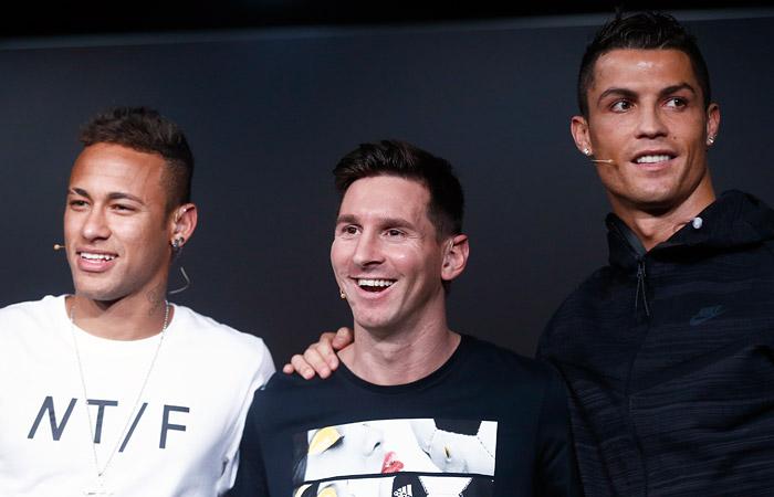FIFA назвала претендентов название лучшего футболиста года