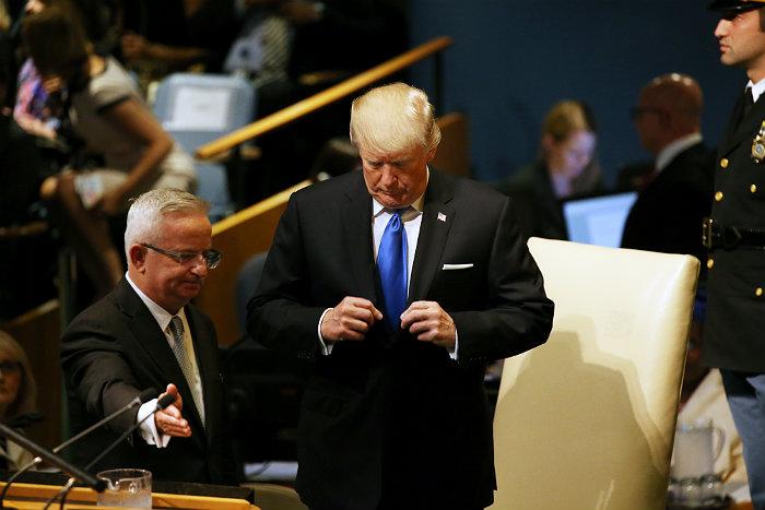 Помощники Трампа просили его не оскорблять Ким Чен Ына на ГА ООН