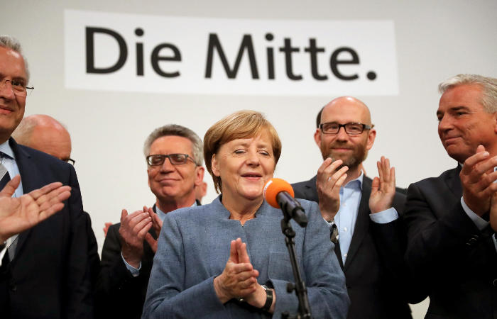Стали известны предварительные итоги парламентских выборов в Германии