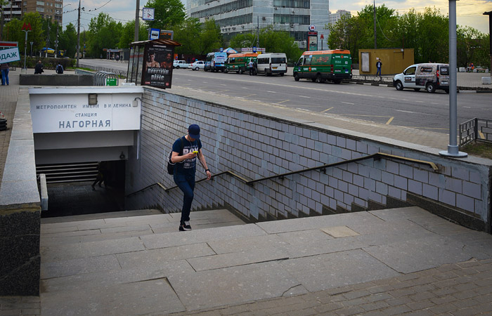 На южном участке серой ветки столичного метро прервано движение поездов