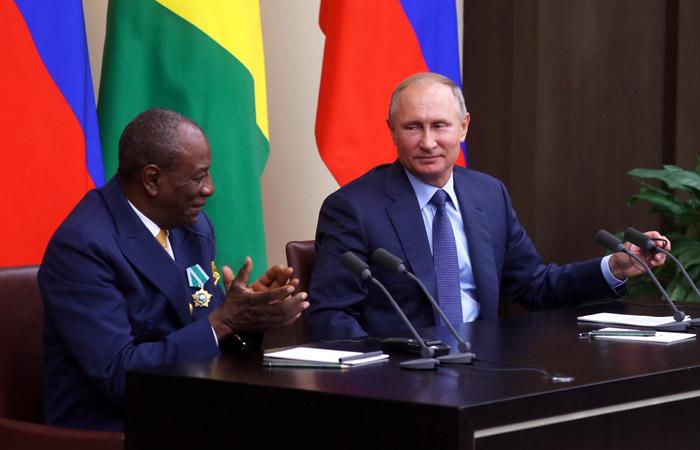 Россия списала $20 млрд долга странам Африки