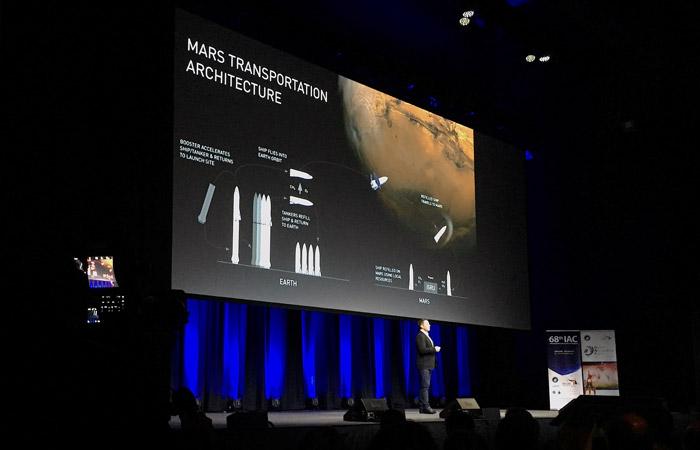 Маск анонсировал универсальную ракету для Марса и Земли