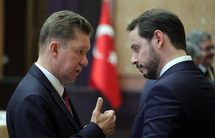 """""""Газпром"""" построил порядка 300 км """"Турецкого потока"""""""