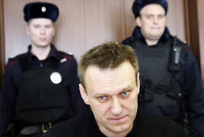 Полиция составила административный протокол в отношении Навального