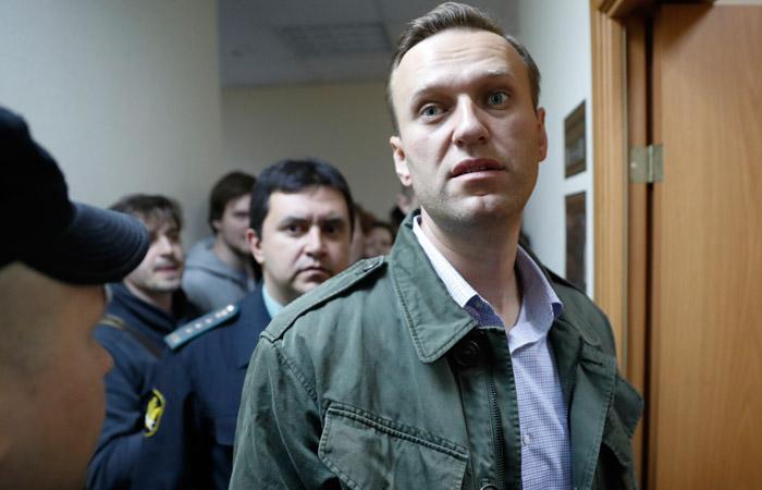 Навальный арестован на 20 суток за призывы к несанкционированным акциям