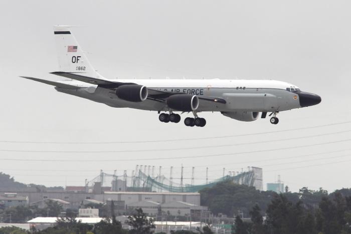 Самолет ВВС США провел очередную разведку вблизи Северной Кореи