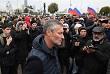 В Екатеринбурге на акцию пришел мэр города Евгений Ройзман