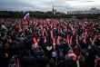 Одна из самых массовых акций прошла в Петербурге. По оценкам наблюдателей, на Марсовом поле собралось несколько сотен человек