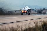 Российский Су-24 разбился при взлете в Сирии