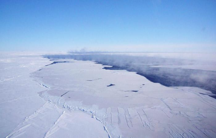 Возле Антарктиды через 40 лет снова открылась огромная полынья
