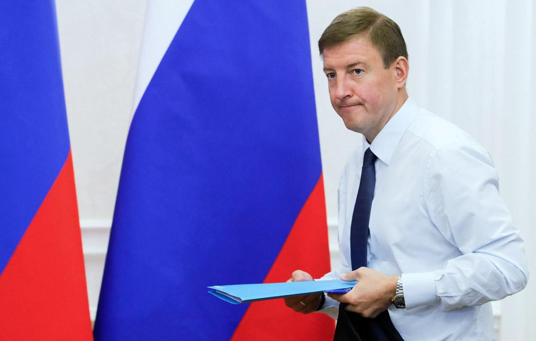 Экс-губернатор Псковской области Андрей Турчак, 41 год