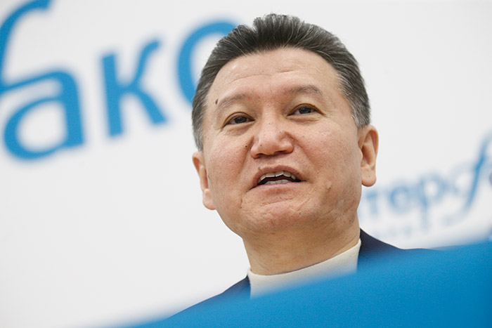 Исполком FIDE лишил Илюмжинова полномочий президента федерации