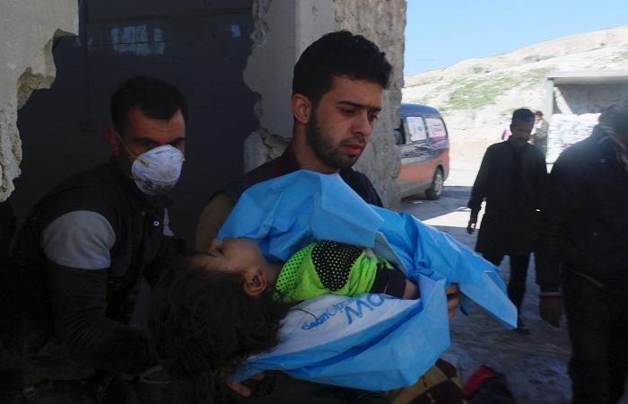 МИД РФ назвал ложными данные США об отравленных зарином сирийских детях
