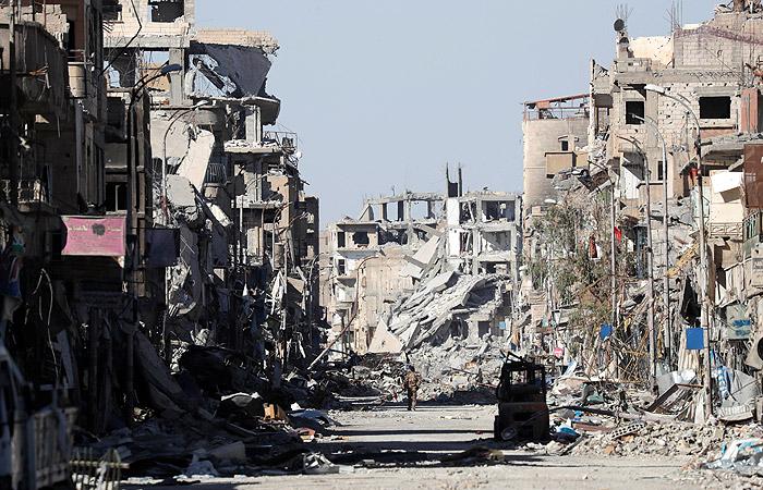 В Минобороны РФ сравнили Ракку с Дрезденом 1945 года