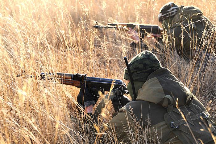 В Курской области гражданин Украины устроил перестрелку с российскими пограничниками