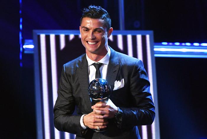 ФИФА признала Роналду лучшим футболистом 2017 года