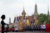 В Таиланде началась церемония кремации умершего более года назад короля