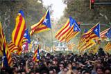Парламент Каталонии проголосовал за независимость от Испании
