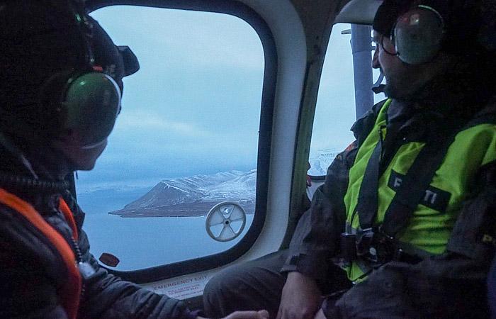 Разбившийся в Норвегии Ми-8 подняли со дна Северного ледовитого океана