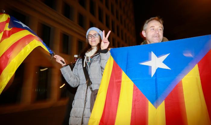 Члены каталонского правительства условно освобождены в Бельгии
