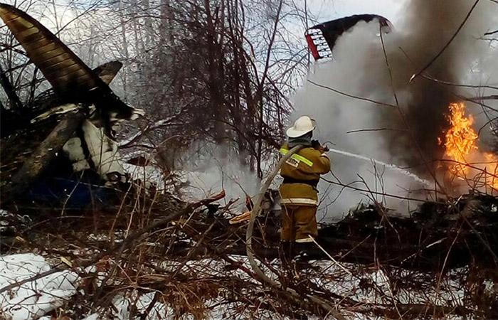 Самолет Ан-2 разбился в Приамурье