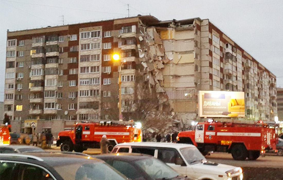 Армян среди пострадавших из-за обрушения подъезда 9-этажного жилого дома в Ижевске нет