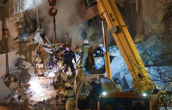 Число жертв обрушения дома в Ижевске достигло трех человек