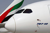 Авиакомпания Emirates заказала 40 самолетов Boeing-787 Dreamliner