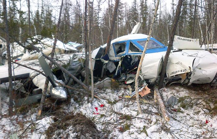 Самолет под Хабаровском упал с высоты в 600 метров
