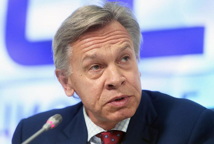 Пушков назвал трех главных кандидатов из числа СМИ на получение статуса иноагента