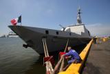 """Ракетный фрегат-""""невидимка"""" ВМС Франции вошел в Черное море"""