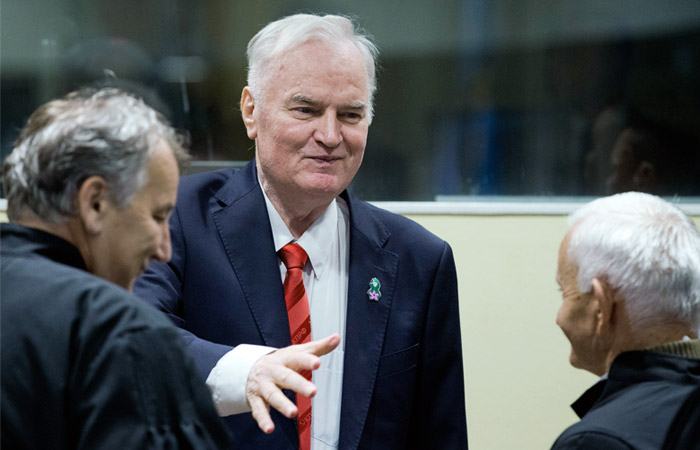 Захарова назвала политизированным пожизненный вердикт Ратко Младичу