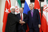 Лидеры РФ, Ирана и Турции исключили подрыв единства Сирии созданием зон деэскалации