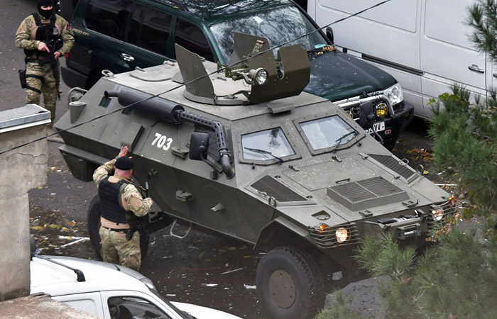 Один иззадержанных впроцессе специализированной операции вТбилиси оказался россиянином