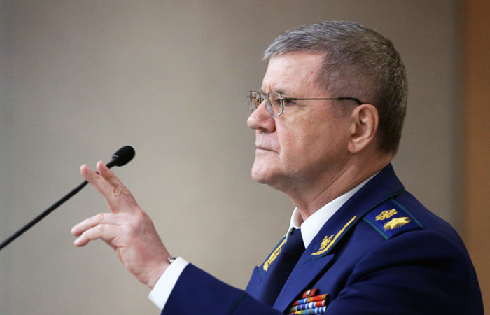 Чайка заявил об одобрении почти 70% россиян работы Генпрокуратуры