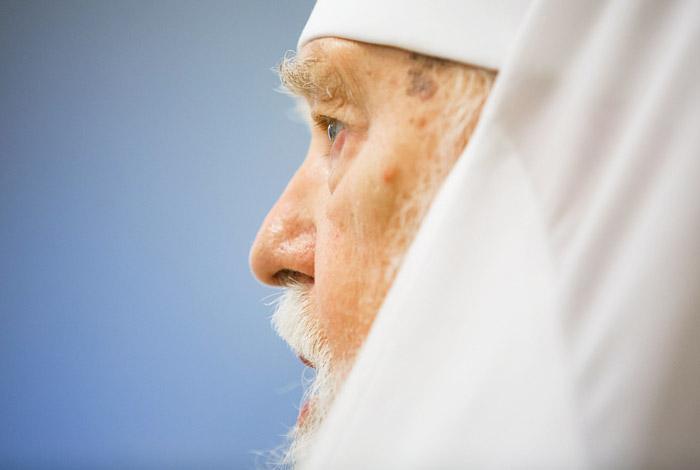 Лидер Киевского патриархата Филарет попросил патриарха Кирилла о прощении