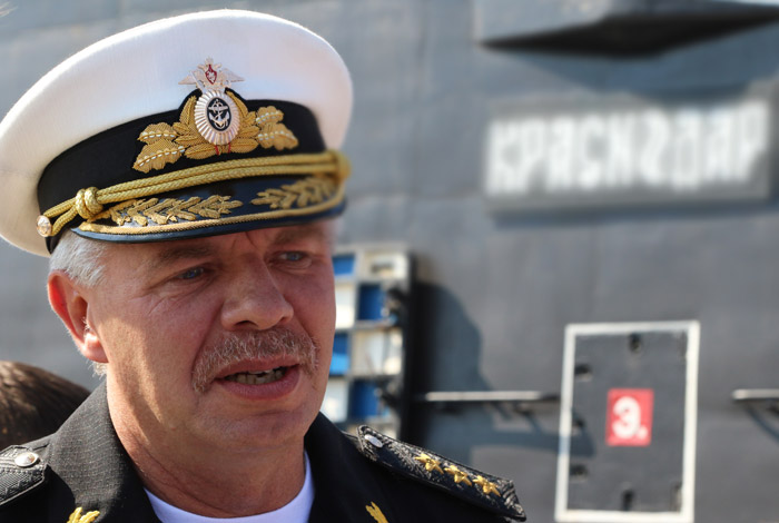 Фрегат Черноморского флота «Адмирал Григорович» взял курс наСредиземное море