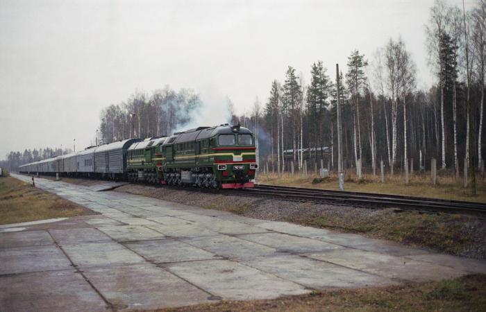 В Российской Федерации закончили работу над «ядерным поездом»