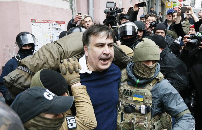Источник сообщил о задержании Саакашвили