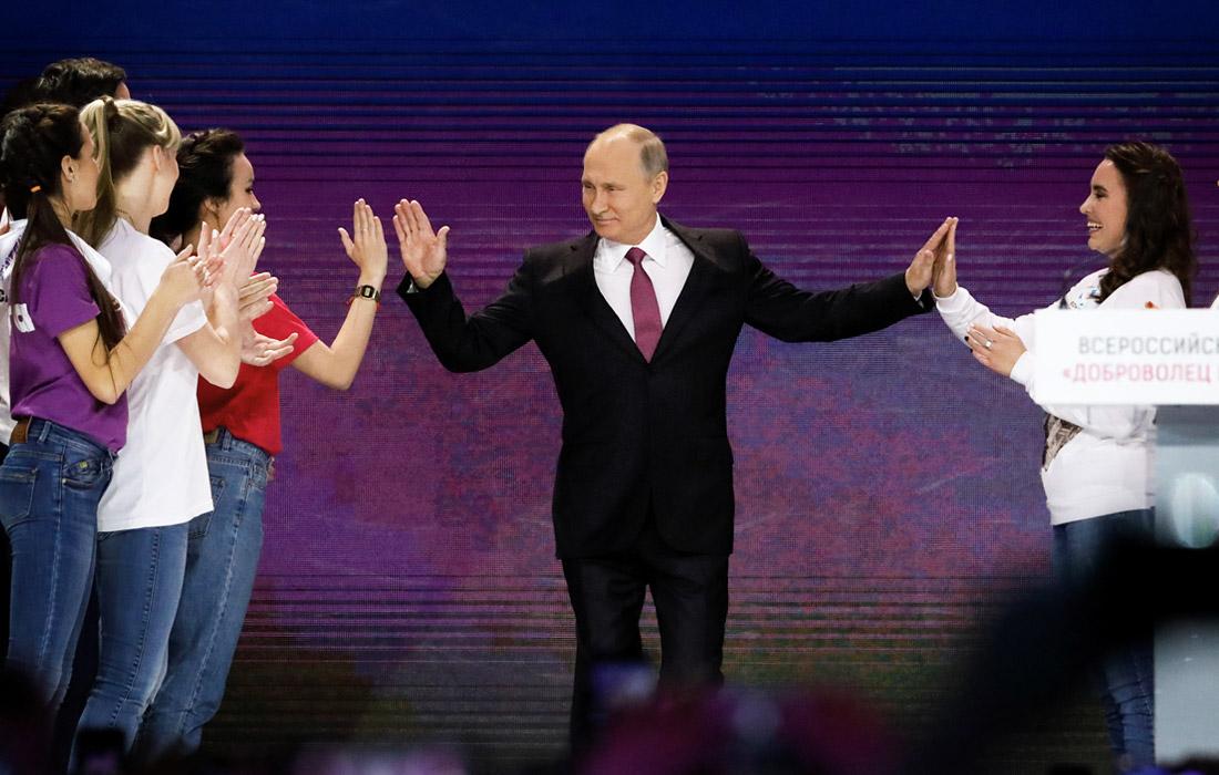 Действующий президент России Владимир Путин