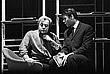"""1968 год. Леонид Броневой и Георгий Мартынюк (слева направо) в спектакле """"Уйти, чтобы остаться"""" в театре на Малой Бронной в Москве"""