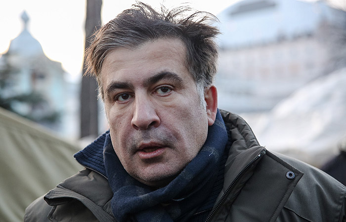 Саакашвили задержали в квартире экс-руководителя полиции Луганской области