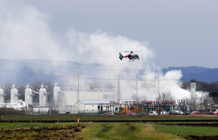 Причиной взрыва на газопроводе в Австрии стали технические неполадки