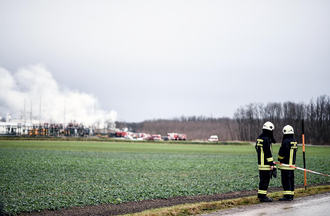 Милиция раскрыла настоящую причину мощного взрыва нагазовом хабе вАвстрии