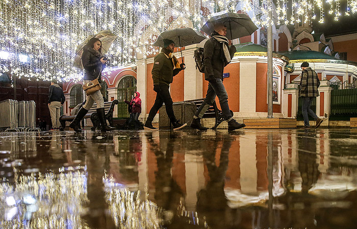 В Москве установлен новый температурный рекорд