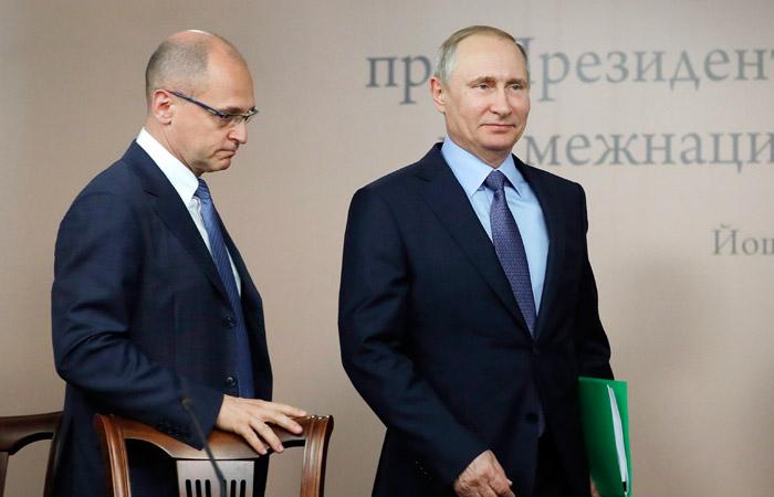 Кириенко не возглавит предвыборный штаб Путина