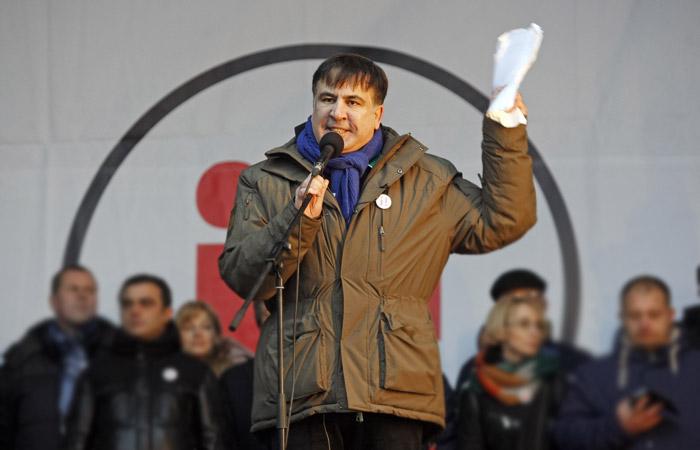 Саакашвили опубликовал открытое письмо Порошенко