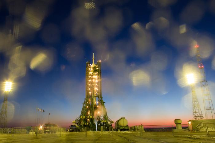 С Байконура стартует ракета-носитель с первым ангольским спутником