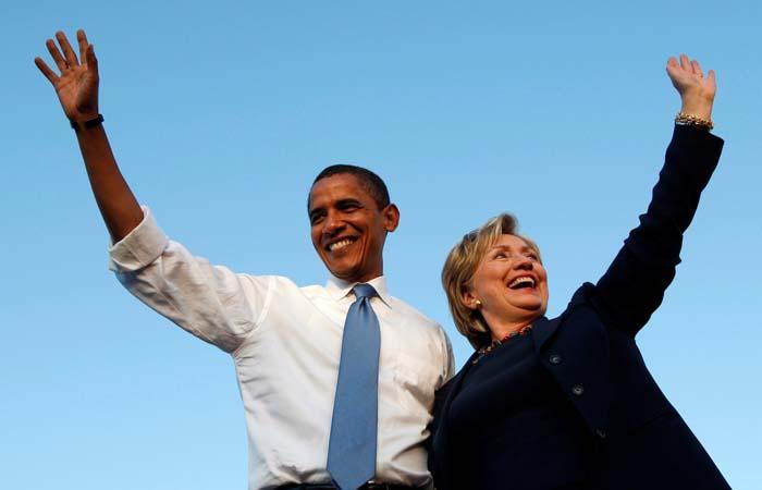 Американцы назвали Обаму и Клинтон самыми достойными восхищения людьми года