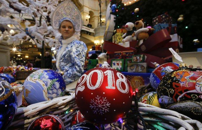Москвичи встретят Новый год без снега